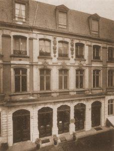 Hôtel de l'horticulture avant 1969