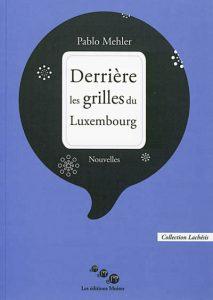 Derrièe les grilles du Luxembourg - Couverture