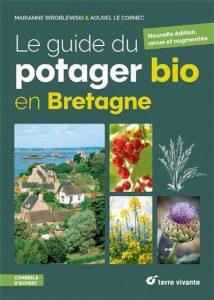 Le guide du potager bio en Bretagne - couverture