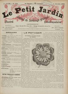 Le petit jardin - 1902 - Page de titre