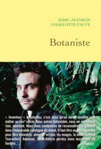 Botaniste couverture